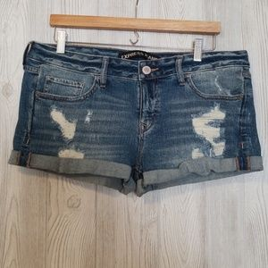 NWT Express Jean Shorts - Size 10